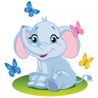 3b7463d5ed1fb Valentine Elephant's Cartoon Clip Art Images Are On A Transparent ...