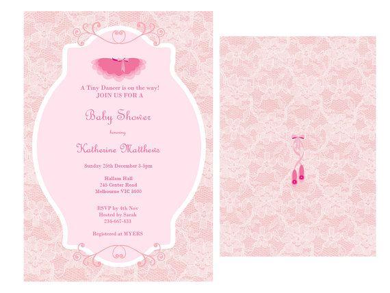 Editable Baby Shower Invitations, Editable Bridal Shower Invitations