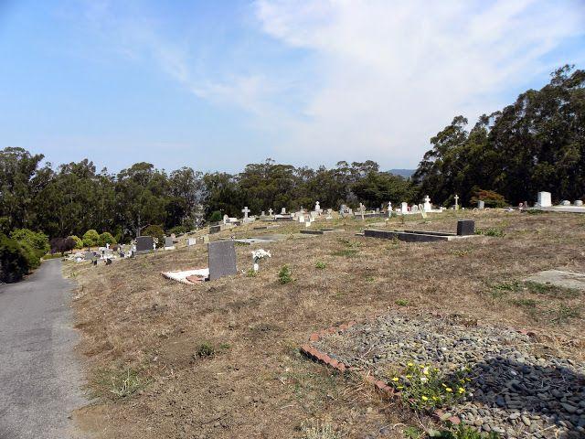 Our Lady of the Pillar Cemetery Half Moon Bay, San Mateo County, California
