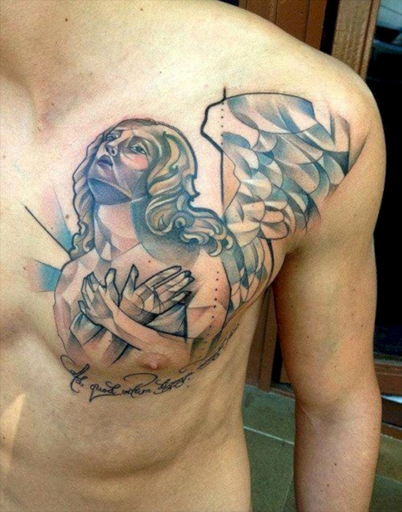 38+ Awesome Chest tattoos after weight loss ideas
