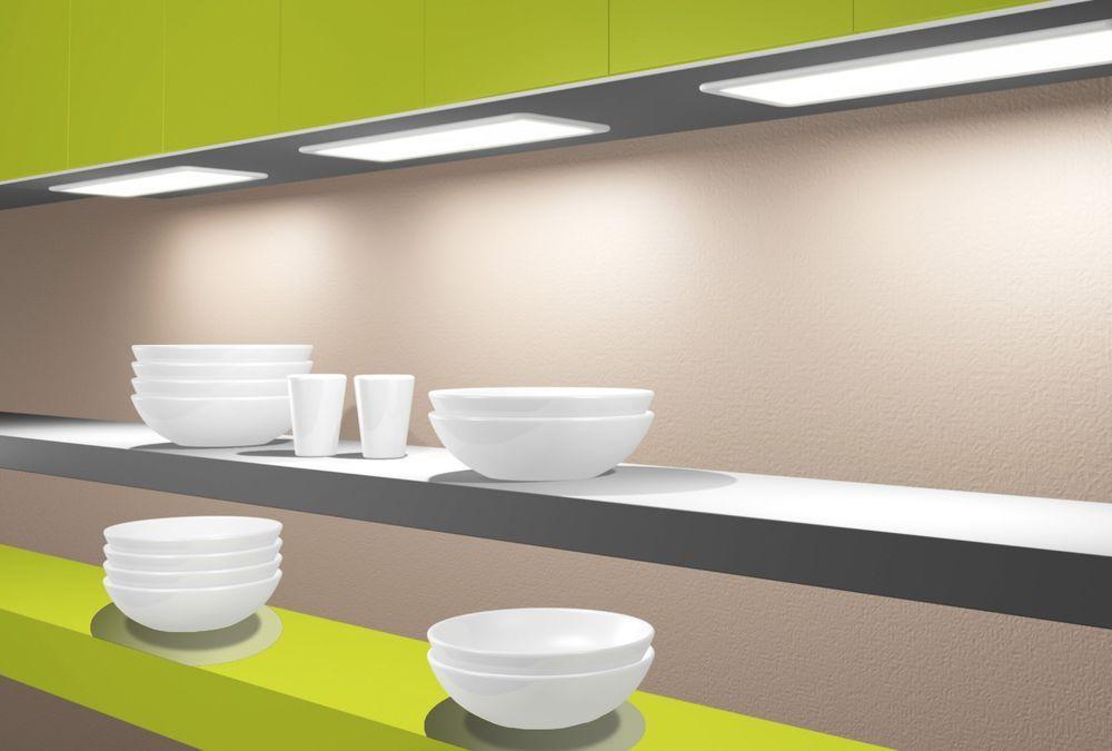 Schön LED Panel Unterbauleuchte Küchenleuchte Küche Unterbaustrahler Dimmbar In  Möbel U0026 Wohnen, Beleuchtung, Lampen |