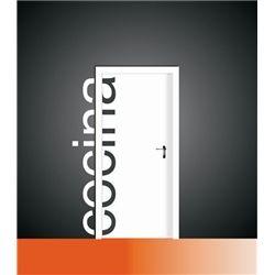 Vinilo decorativo para puerta de cocina vinilos for Vinilos decorativos para puertas