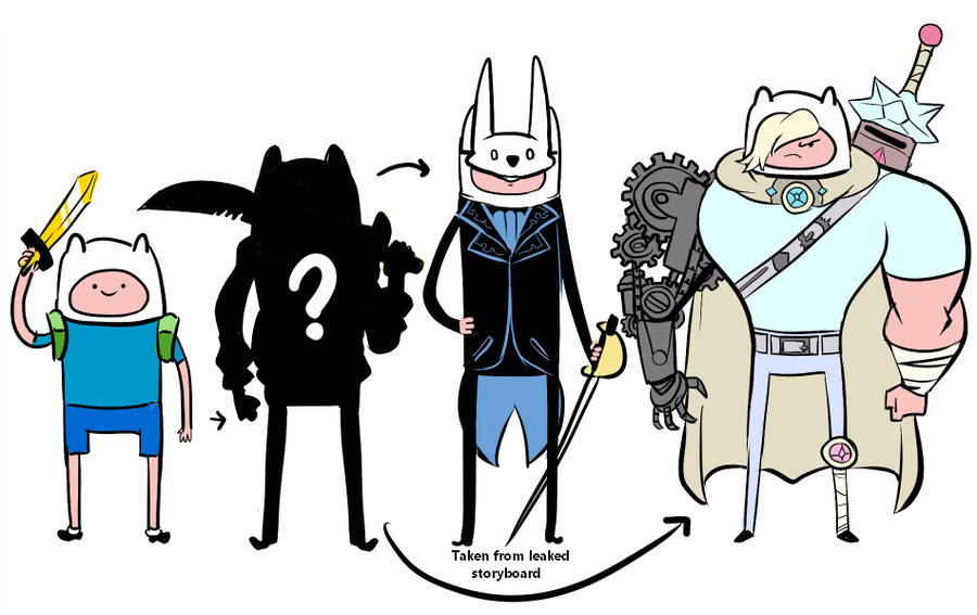 Adventure Time Grown Up