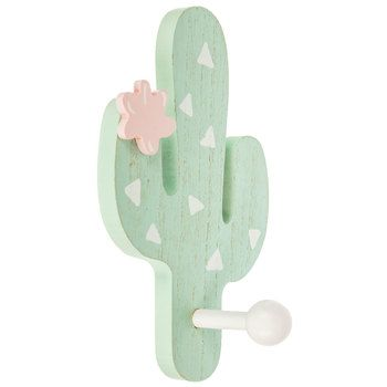Pink Cactus Wood Wall Decor | Hobby Lobby | 1641497