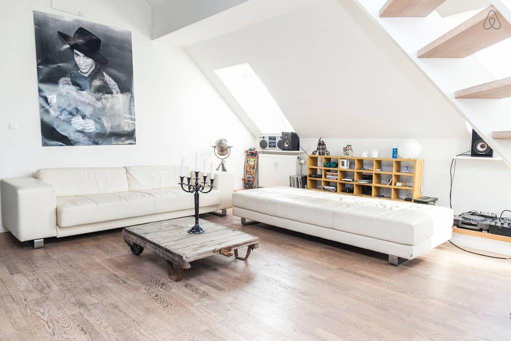 Dai un'occhiata a questo fantastico annuncio su Airbnb: 2 big balconies in newly built loft a Copenaghen