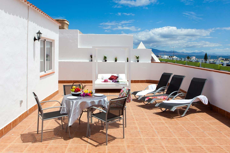 Ático con vistas Corralejo terraza solárium Fuerteventura