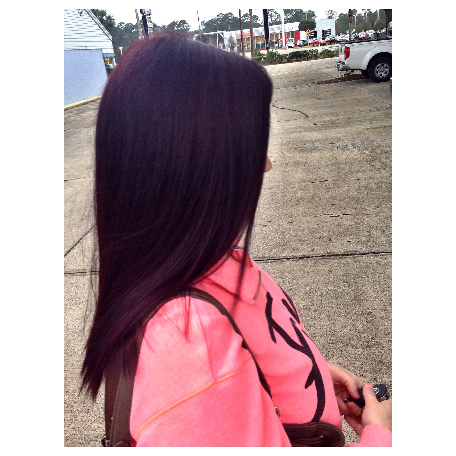 violet hair colorpravana 452 hair �� pinterest