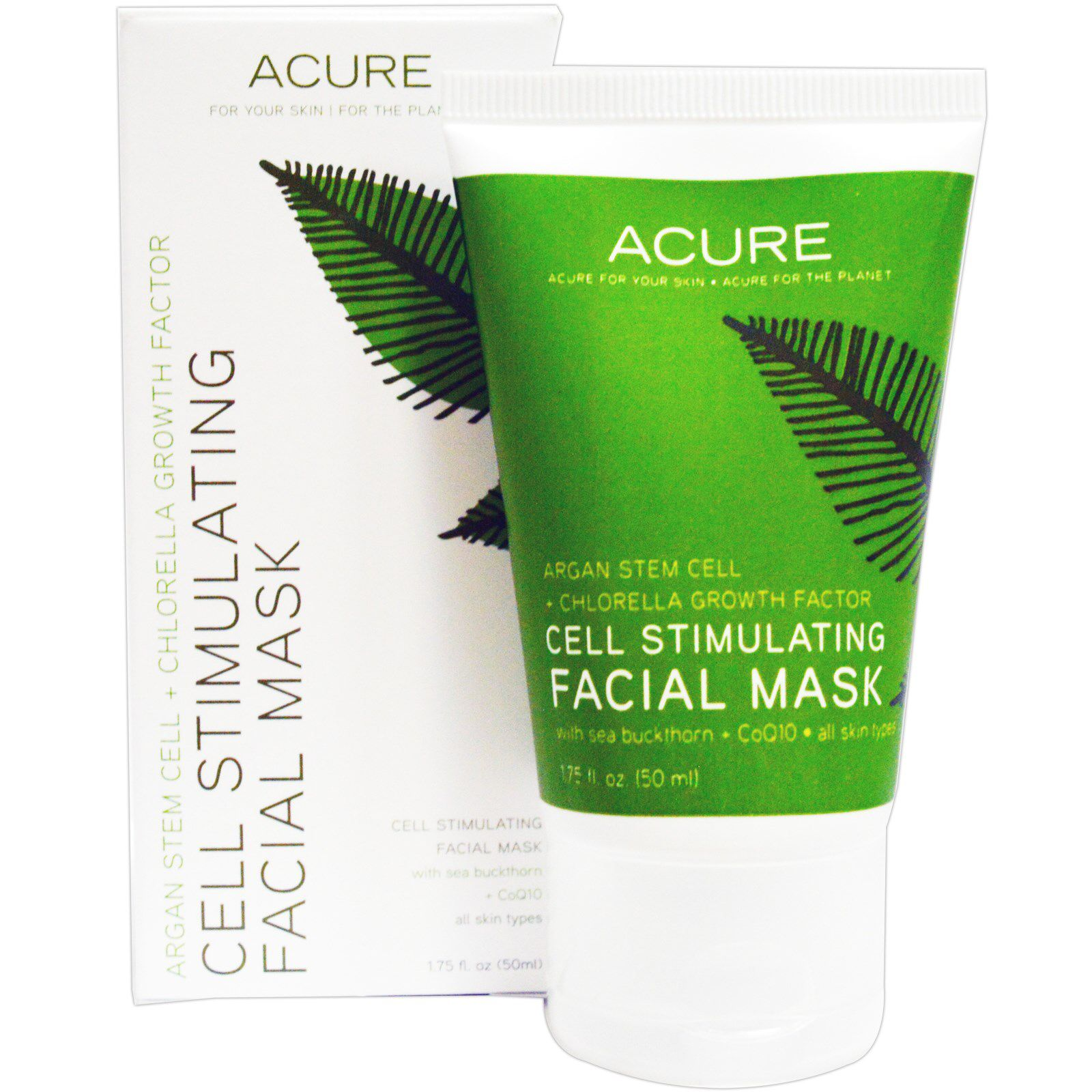 Acure Cell Stimulating Facial Mask 1 Oz