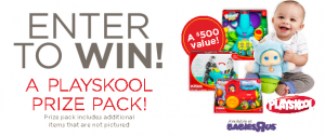 Win a Playskool Prize Pack with Thyme Maternity