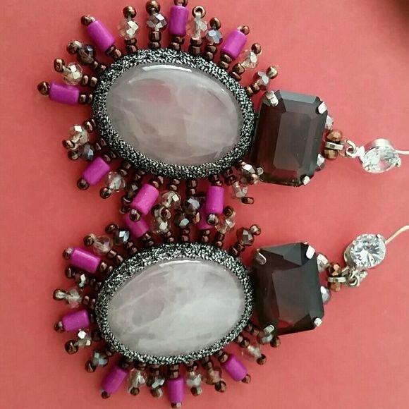 FREE W $100 Gorgeous Ottaviani earrings Exquisite, beautiful, royalty. ..... Jewelry Earrings