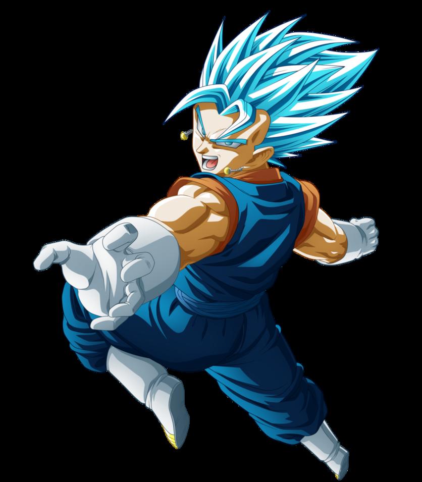 Vegetto Super Sayajin Blue Dragon Ball Artwork Dragon Ball Art Dragon Ball Image
