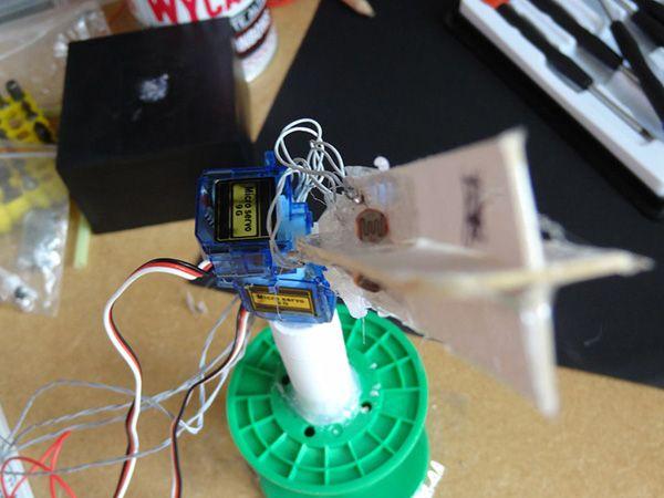 Diy Arduino Based Solar Tracker Solar Tracker Arduino Arduino Projects