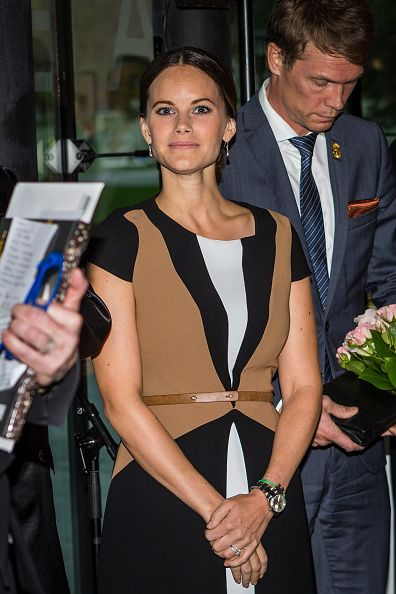 Princess Sofia Attends The Opening Of The 'Porphyry: The Royal Stone' Exhibition