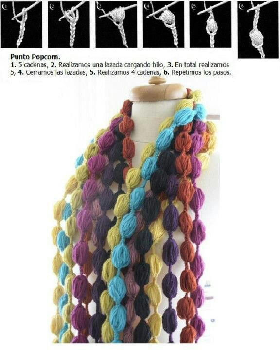 Pin de Melisa Marqués en Crochet cuellos / bufandas (cowl - scarf ...