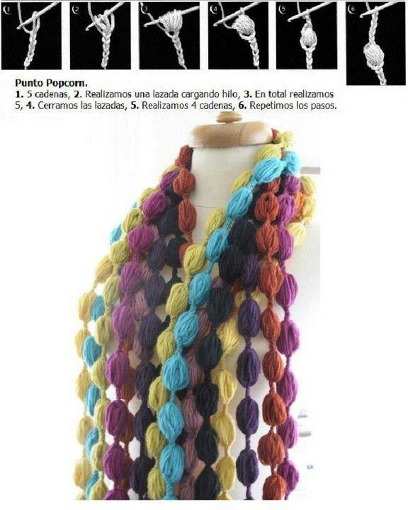 Pin de Cecilia Ester en Solo crochet | Pinterest | Collares ...