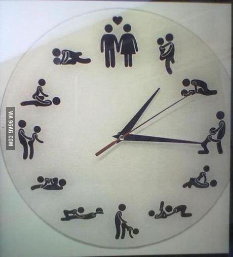 Relógio Sexual (Sexual Clock)  Bom em qualquer hora!!