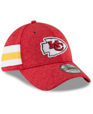 2662b866 New Era Kansas City Chiefs On Field Sideline Home 39THIRTY Cap - Red ...