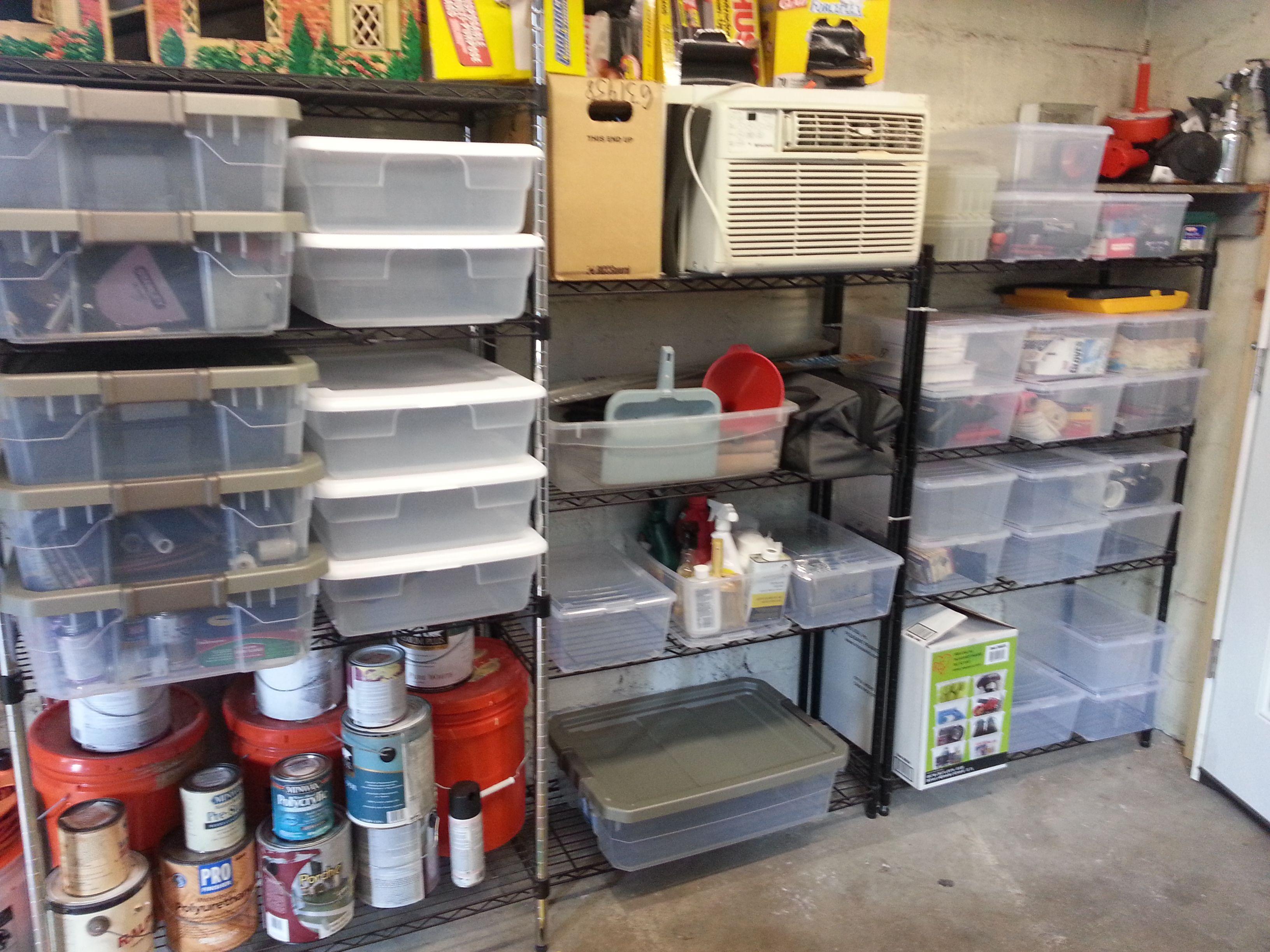 Iris stackable storage boxes from Costco  Sterilite 7-Gallon