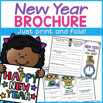 New Yearu0027s Resolution Activity Activities and Students - new year brochure template
