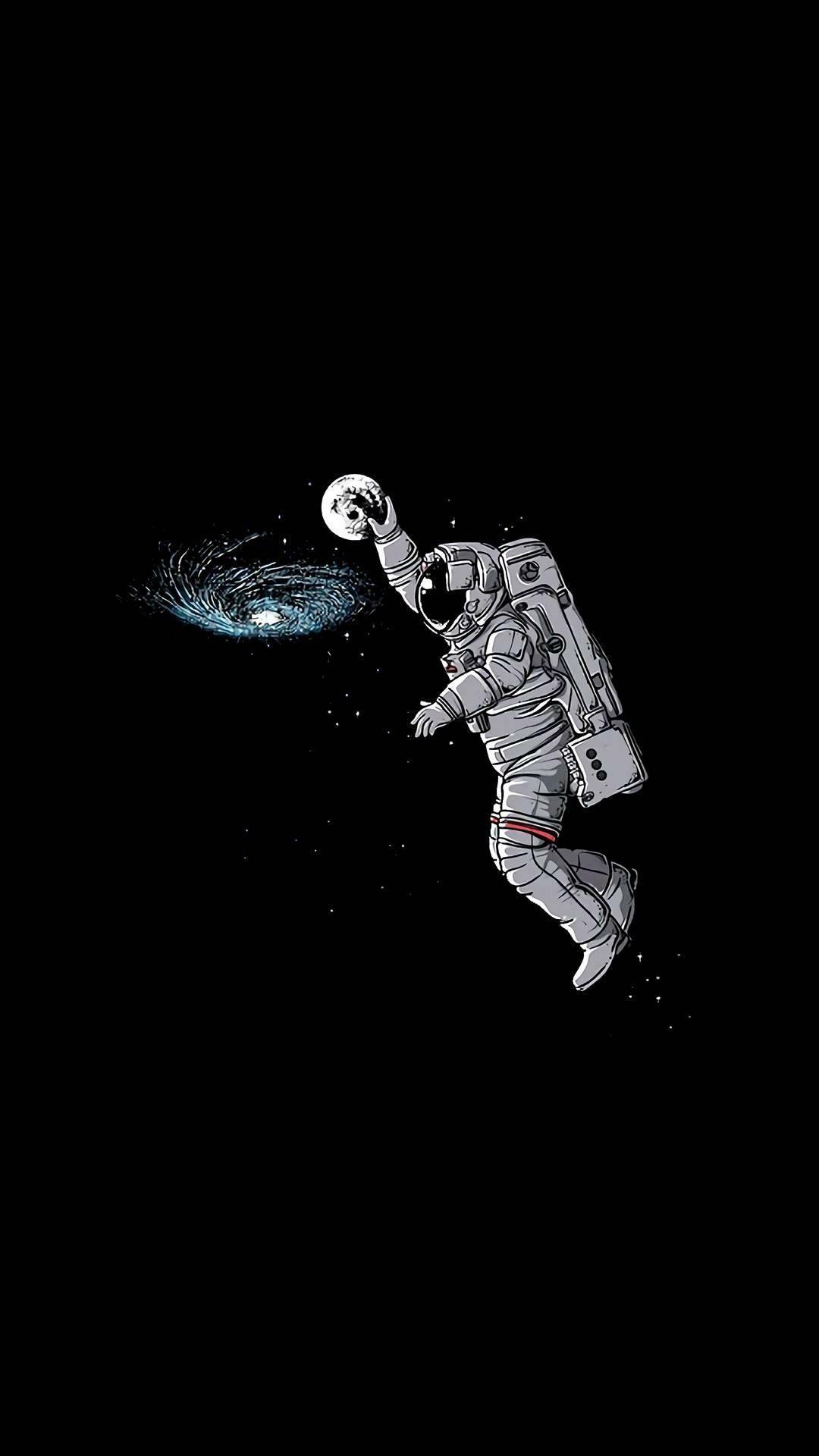 Ios Wallpaper Papel De Parede De Astronauta Papeis De Parede Engracados Imagens Escuras