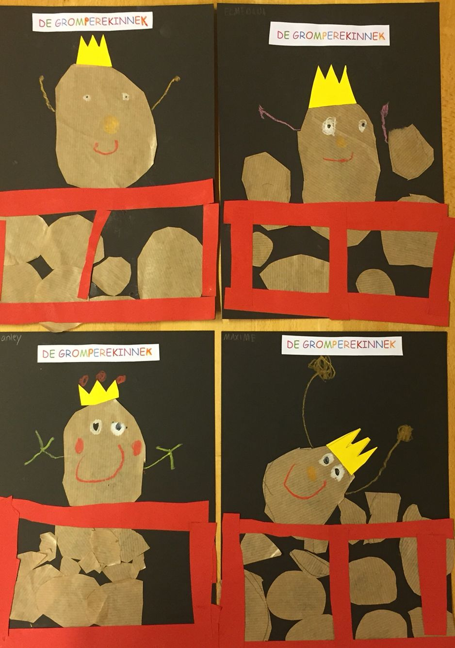 Kartoffelkiste Bastelidee Basteln Herbst Kindergarten