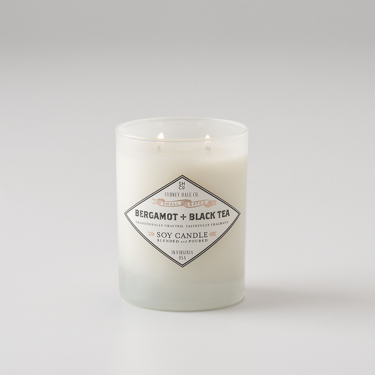Sydney Hale Co Candle White Glass Candles White Candles Sydney Hale Candle
