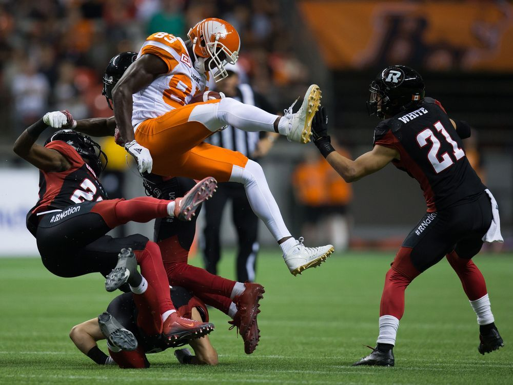 Lions 40 RedBlacks 33 Leos hold home court in offensive duel - Calgary Herald
