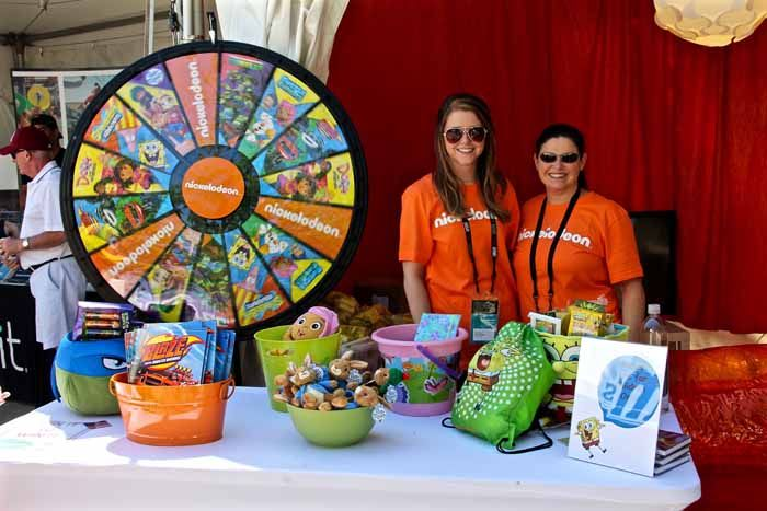 Trade Show Booth Game Ideas : Nickelodeon trade show booth fun with games and prizes