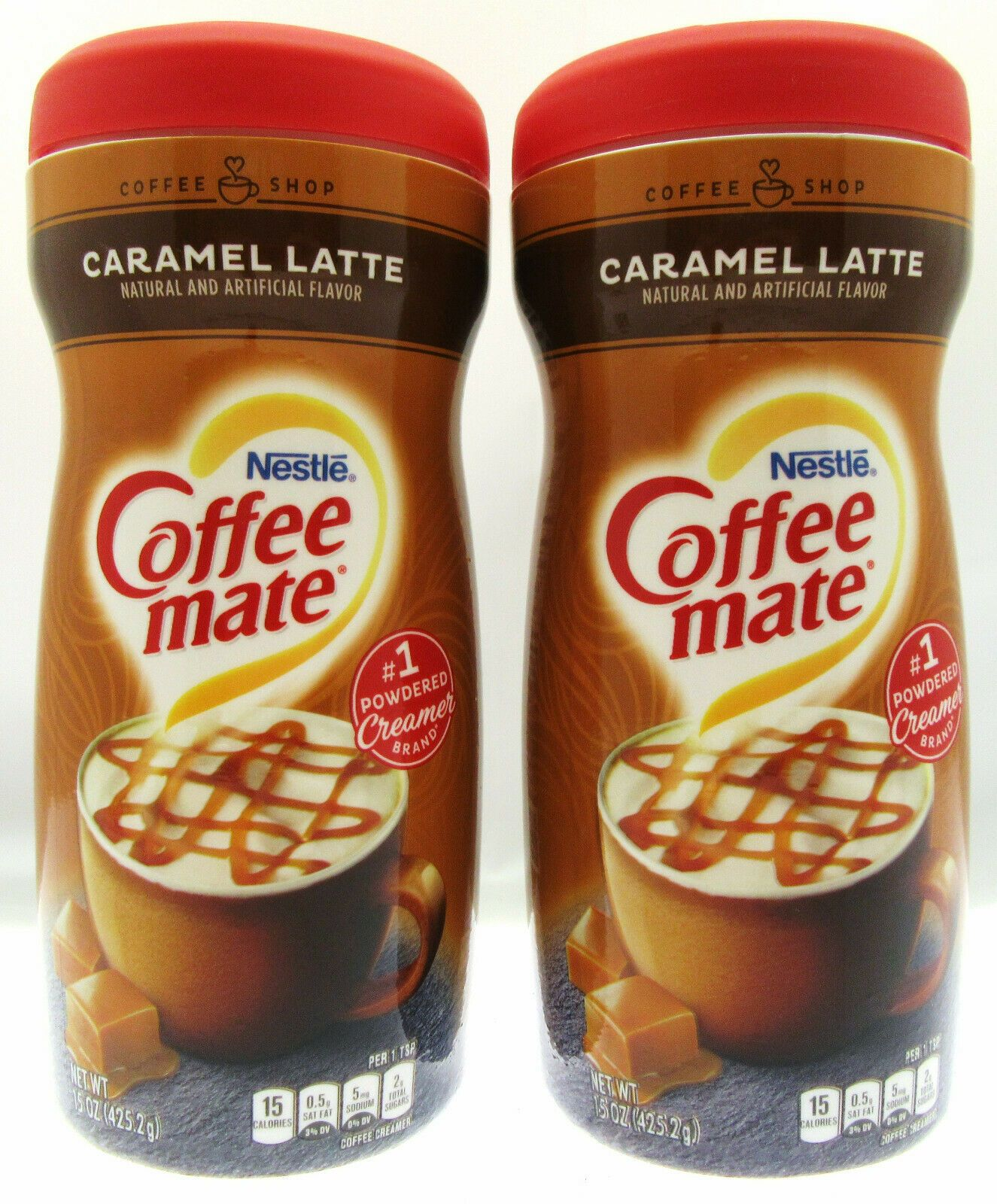 Coffee Mate Caramel Latte NonDairy Creamer 15 oz
