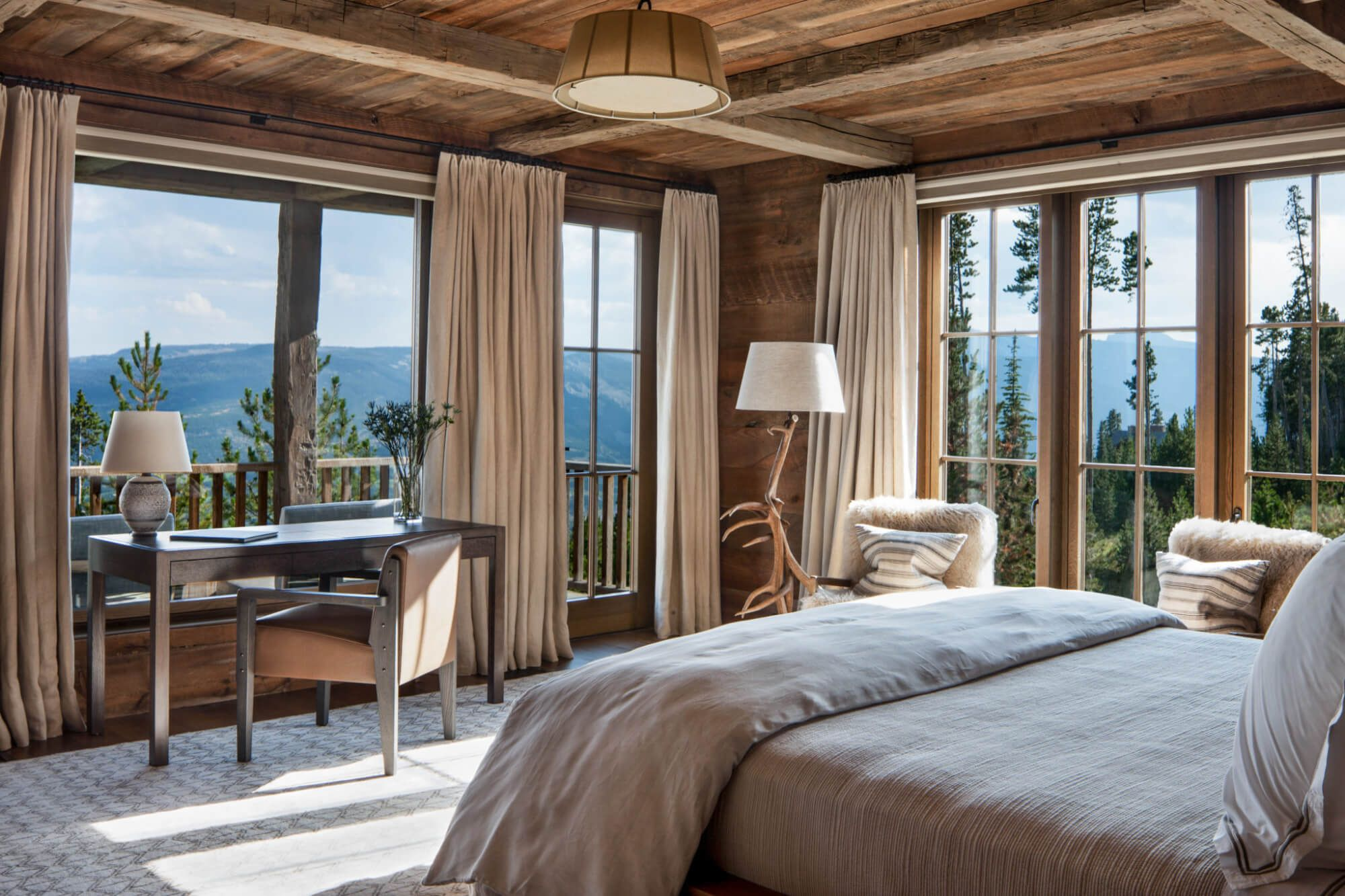 Andesite family lodge u miller roodell architects contemporary