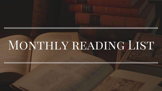 Monthly Reading List September, 2018 Disability Pinterest
