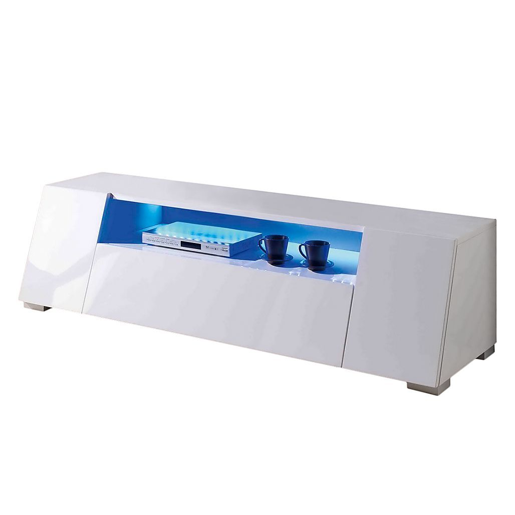 Tv lowboard led  EEK A+, TV-Lowboard Roomconcept (inkl. LED-Beleuchtung) Hochglanz ...