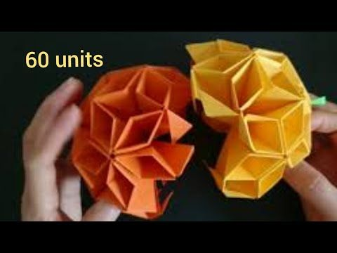 How to make an origami Butterfly Ball | The Kid Should See This | 360x480