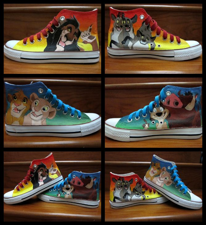 f6e7b33a20f Lion King Shoes by ~bloofeesh on deviantART