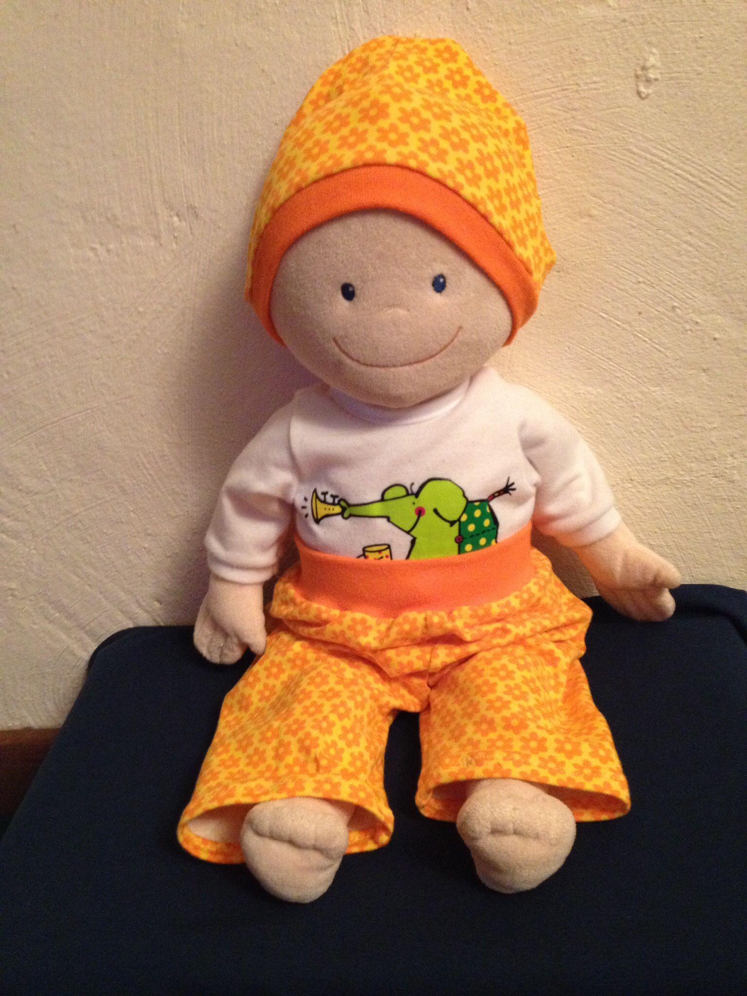 Kleidung & Accessoires Puppenkleidung selbstgenäht für Krümelchen 30cm Mütze