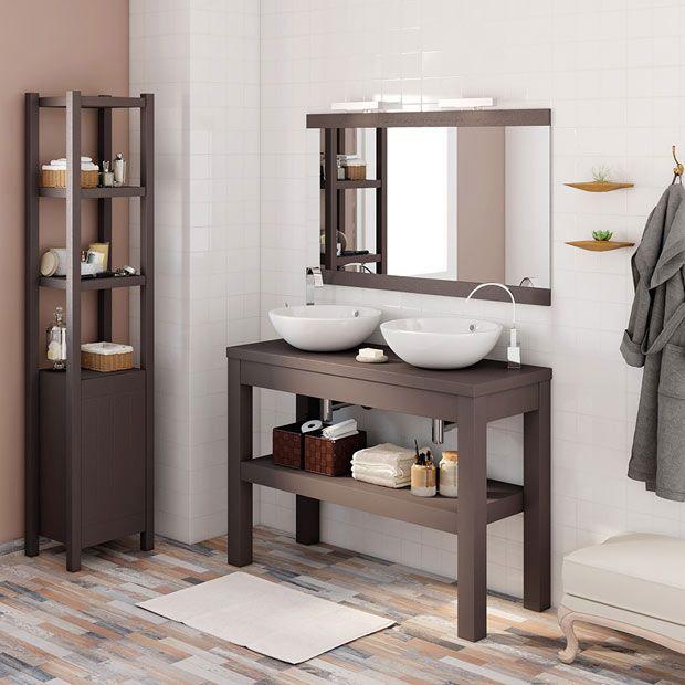 muebles de lavabo leroy merlin espejos y ba os pinterest