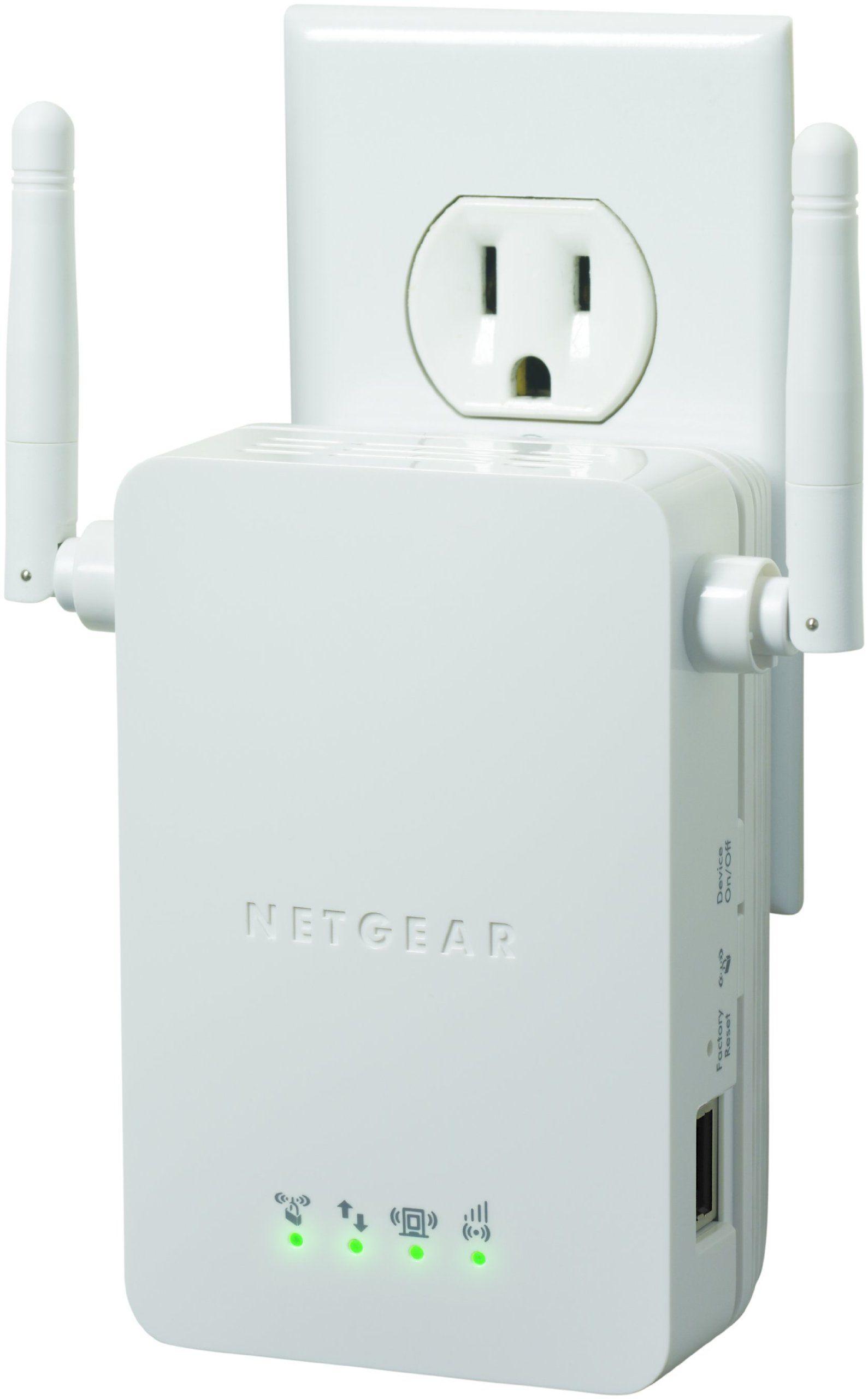 Netgear N300 Wi Fi Range Extender Wall Plug Version Wn3000rp