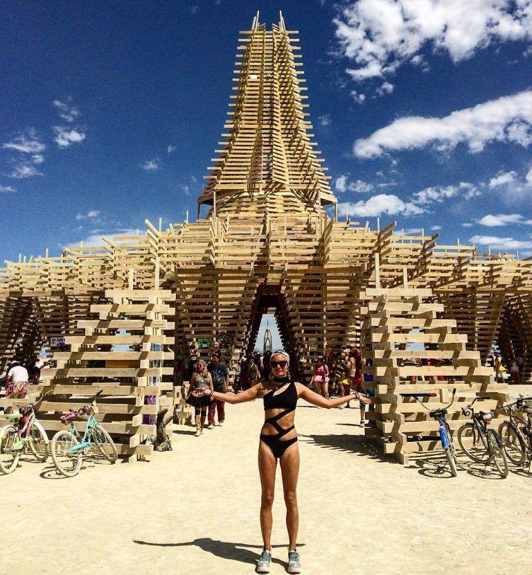 Desert storm! Worlds wildest festival underway as