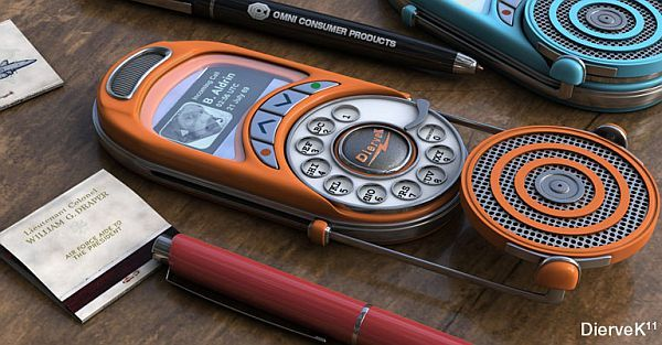 Or Good UX. You decide. Analog rotary mobile phone. Cool design ...