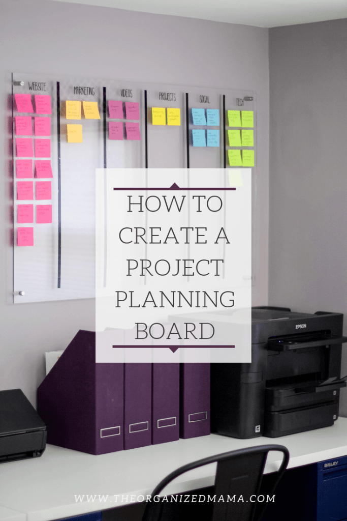 How To Think Like An Organizer When It Comes To Project Planning