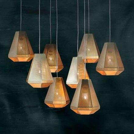 Tom Dixon Cell Tall hanglamp