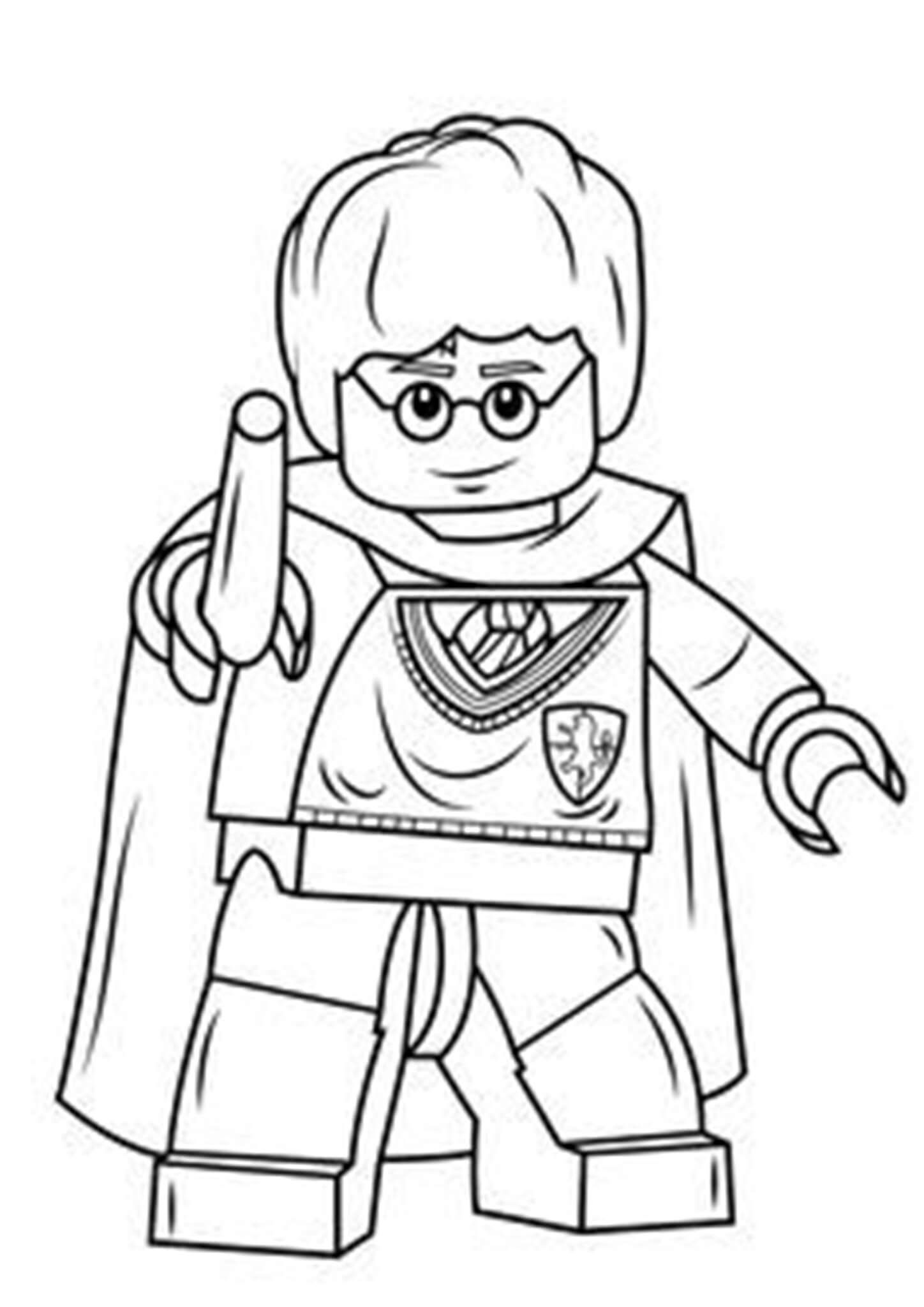 Free Easy To Print Lego Coloring Pages Lego Coloring Pages Harry Potter Coloring Pages Lego Movie Coloring Pages