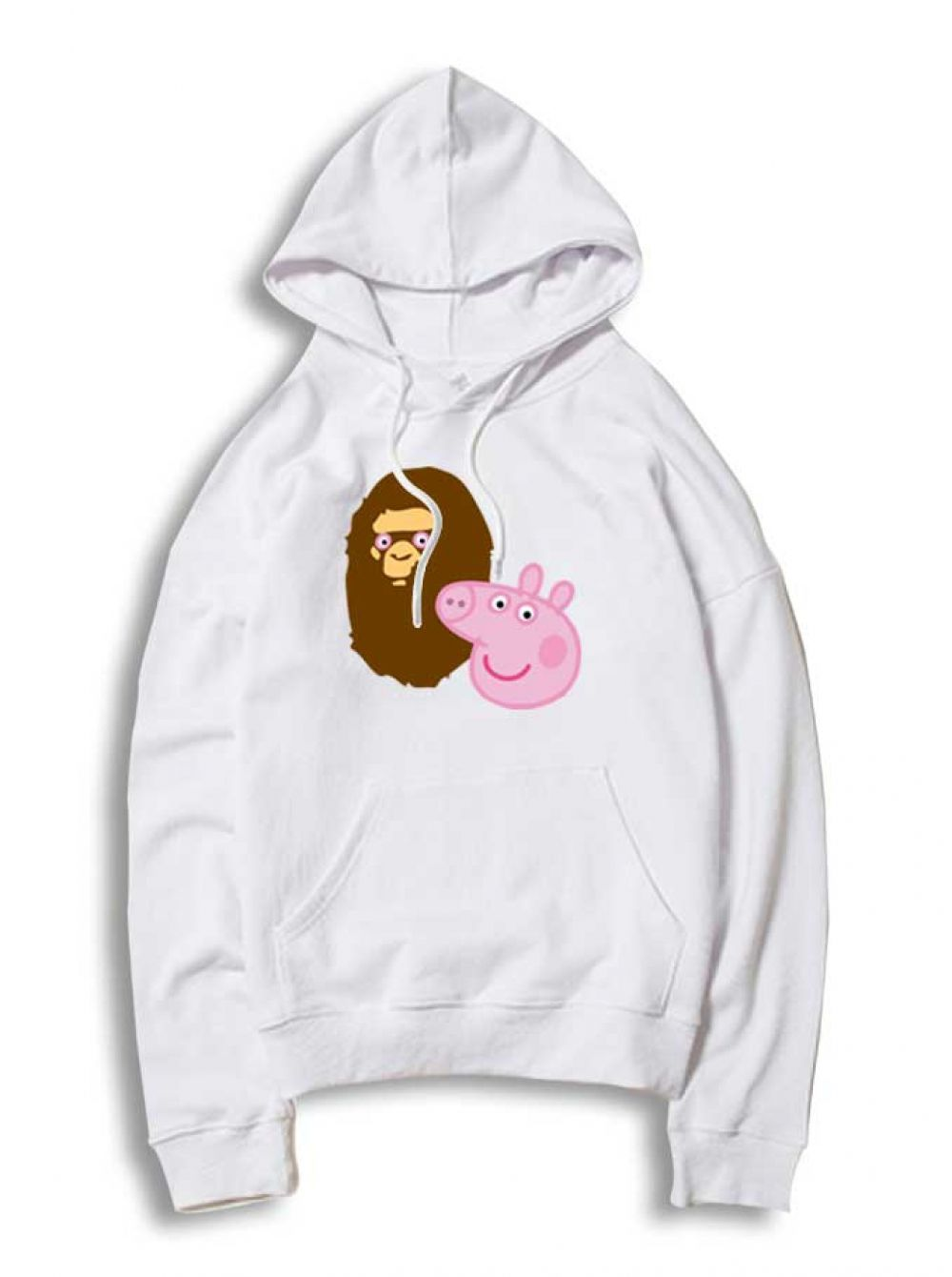 6b067228376 A Bathing Ape Bape Head X Peppa Pig Parody Hoodie   33.50  Tee  Hype   Outfits  Outfit  Hypebeast  fashion  shirt  Tees  Tops  Teen