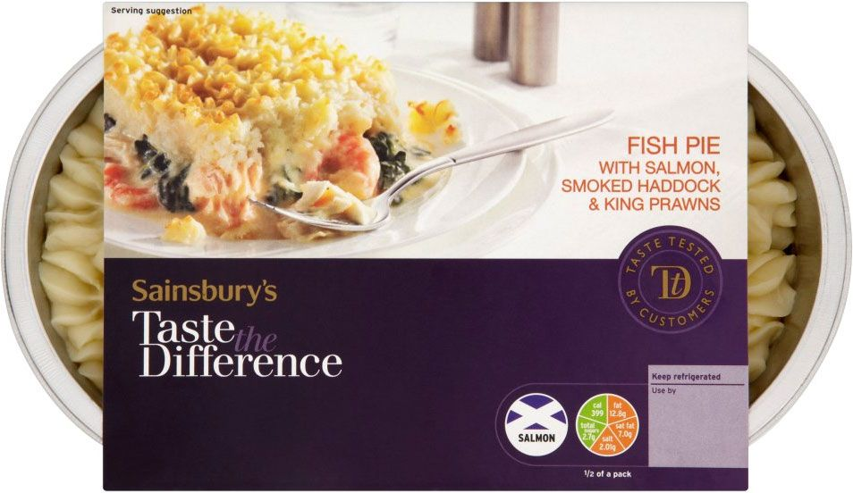 Sainsbury's Taste the Difference Fish Pie (800g) | Fish ...