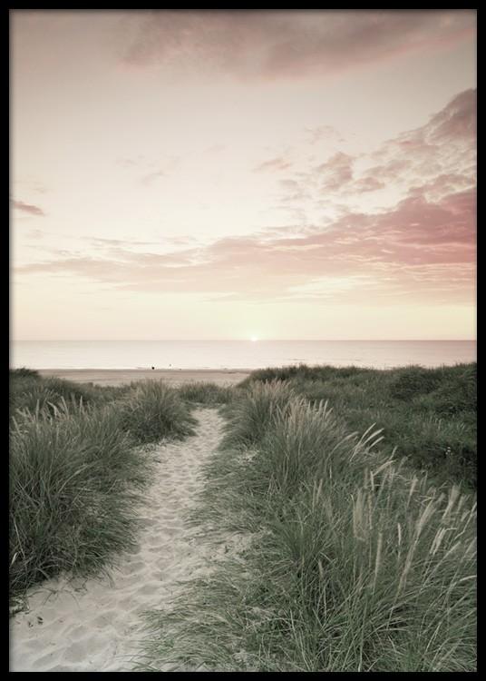 Ocean Sunset Plakat I 2020 Plakat Moderne Plakater Bilder