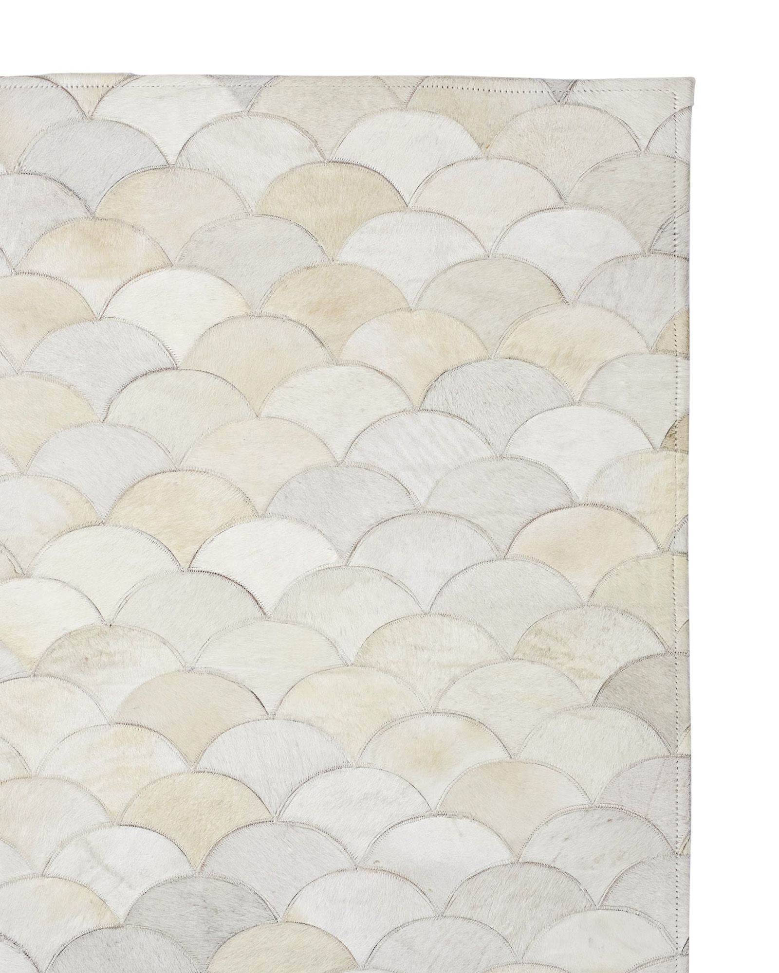 Scalloped Hide Rug Serenaandlily I Love This It Wears Very Well For A