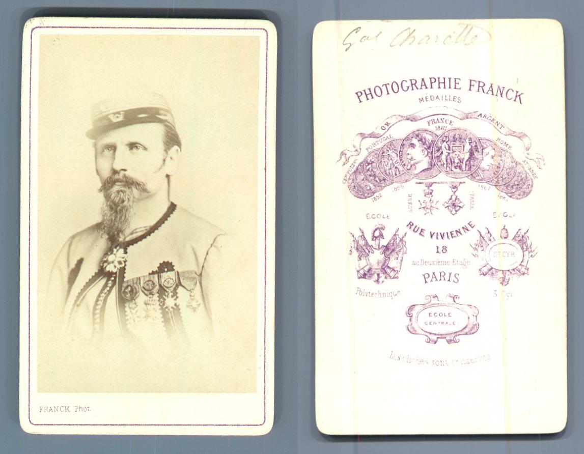 General Charette Zouave CDV Portraits Militaires