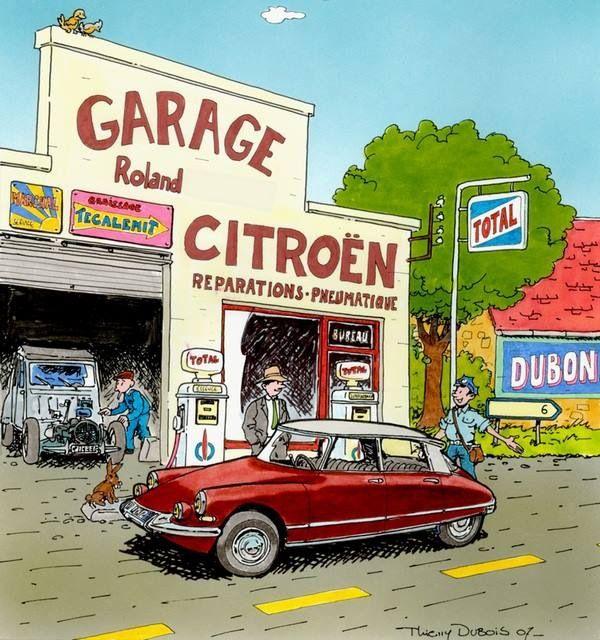 Citro n ds by thierry dubois vintage pinterest ds for Garage citroen carcassonne