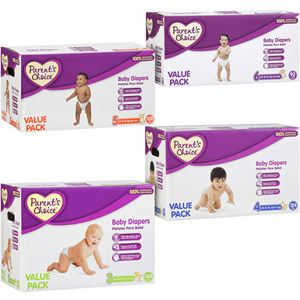 Parent S Choice Diapers Size 3 144 Diapers Walmart Com Parents Choice Diapers Parents Choice Absorbent Diapers