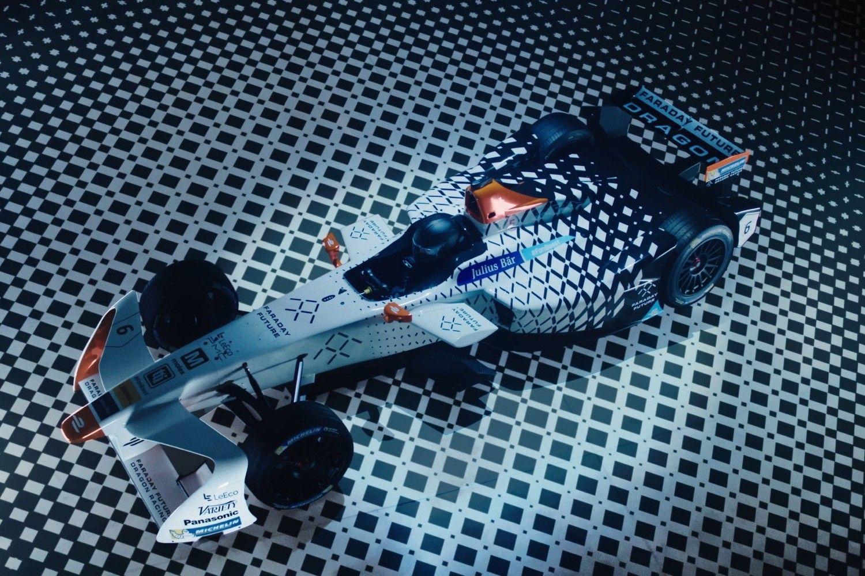 Faraday Future Formula E Car Faraday Future Formula E Racing